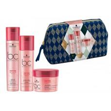 Bonacure Repair Rescue SET Micellar Shampoo 250ml + Conditioner 200 ml + Treatment 200 ml