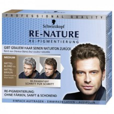 Schwarzkopf Re Nature Erkek Medium